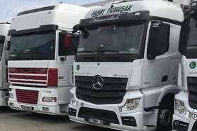 اعلام متروکه کامیونهای وارداتی متوقف شد