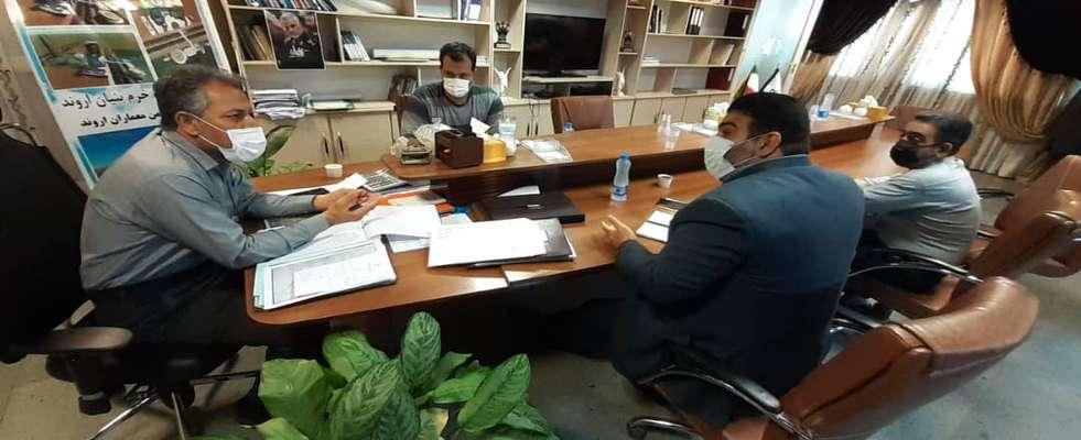جلسه شورای ترافیک به ریاست سرپرست شهرداری خرمشهر برگزار شد