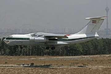 پرواز ایلوئوشین به عراق غیر تجاری بوده است