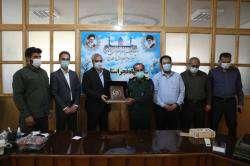 مدیران ارشد شهرداری شیراز با فرمانده سپاه فجر استان فارس دیدار کردند