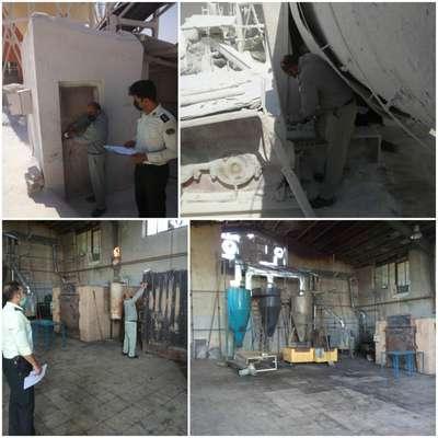 جلوگیری از فعالیت دو واحد صنعتی آلاینده در شهرستان کاشان
