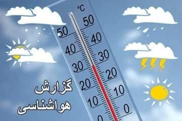 کاهش ۶ تا ۱۰ درجهای دما در اردبیل و استانهای ساحلی دریای خزر