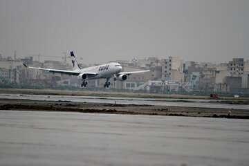 انجام ۵۴۴ پرواز اربعین در فرودگاهها تا صبح امروز