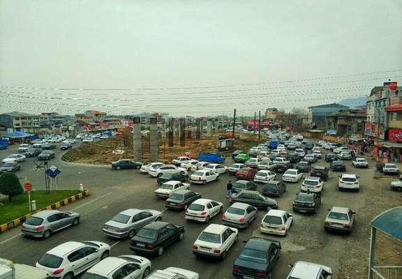 تقاطع غیرهمسطح میدان گیل لاهیجان، چشم انتظار تردد