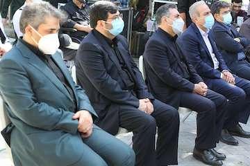 بزرگداشت ۵۶۳ شهید وزارت راه و شهرسازی در دفاع مقدس