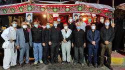 حضور مهندس سید احسان اصنافی، شهردار شیراز در شب اربعین حسینی در موکبهای عزاداری حضرت ...
