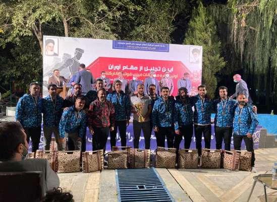 راه یابى تیم فوتبال شهرداری ساری به مسابقات جهانی