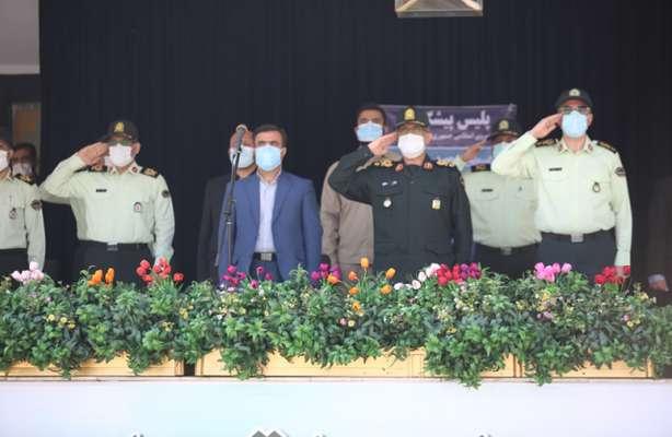 حضور معاون رئیس جمهور و رئیس سازمان حفاظت محیط زیست در مراسم گرامیداشت هفته ناجا