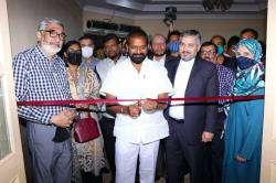 به مناسبت روز ملی حافظ نمایشگاه فرهنگی و هنری شیراز در حیدرآباد هند افتتاح شد