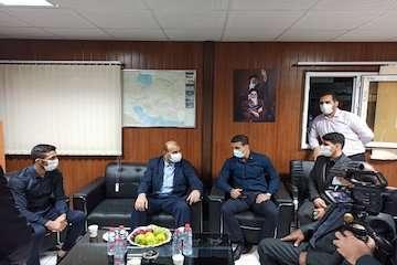 وزیر راه و شهرسازی با کشتی گیران قهرمان تیم ملی فرنگی در شیراز دیدار کرد+عکس