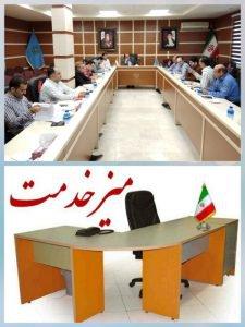 راه اندازی میز خدمت در بنیاد مسکن استان گلستان