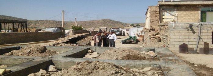 بازدید از روند بازسازی مناطق زلزله زده شهرستان دالاهو استان کرمانشاه:
