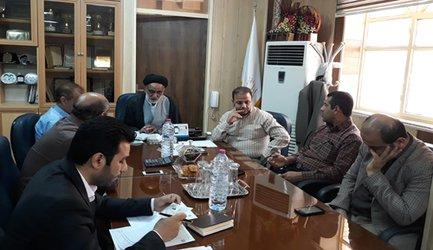 نخستین جلسه ستاد شورای اقامه نماز اداره کل بنیاد مسکن بوشهر برگزار شد