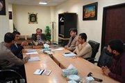 جلسه مدیرکل راه و شهرسازی استان با پیمانکار راه روستایی قتلیش به پیربز در خصوص پیگیری پروژه پنجشنبه ۱۴ تیر ماه ۹۷