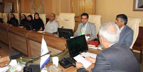 جلسه ریاست با مدیران و مسئولین سازمان            جلسه ریاست با مدیران و مسئولین سازمان