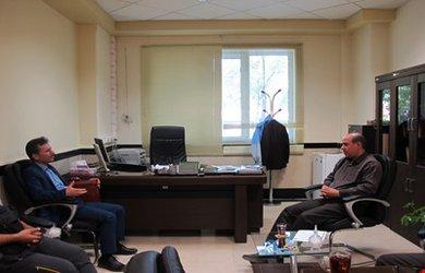 دیدار رئیس و تعدادی از اعضای هیئت کوهنوردی با سرپرست مدیریت بحران