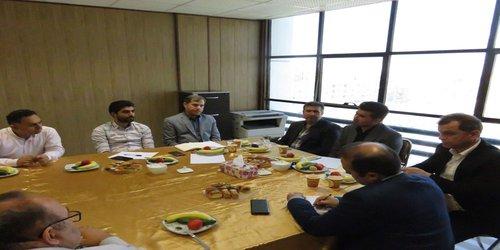 دیدار ریاست سازمان نظام مهندسی ساختمان استان البرز با شهردار و اعضای شورای اسلامی شهر فردیس