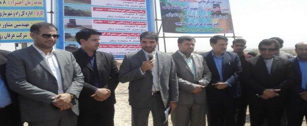 ضریب برخورداری خوزستان در راه روستایی ۶۴ درصد است