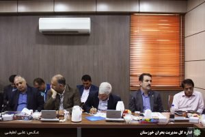 شورای آب و برق استان خوزستان برگزار شد/گزارش تصویری/