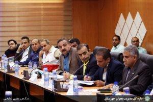 نشست شورای هماهنگی مدیریت بحران خوزستان در هویزه برگزار شد/گزارش تصویری/