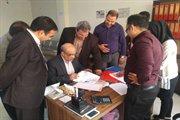 بازدید مدیر کل دفتر توسعه مهندسی ساختمان وزارت راه و شهرسازی از هیات اجرایی انتخابات نظام مهندسی استان البرز