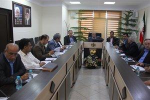 جلسه کارگروه تخصصی امور زیربنایی و شهرسازی در اداره کل راه وشهرسازی استان البرز برگزار شد .