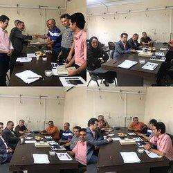 هیات علمی انجمن صنفی مهندسان معمار وشهرساز استان البرز رسما فعالیت خود را آغاز کرد