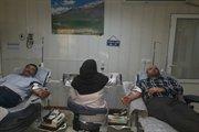 اهداء خون توسط کارکنان راه و شهرسازی کهگیلویه وبویراحمد