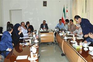 برگزاری سومین جلسه کارگروه تصویب طرح راههای استان در سال ۹۷
