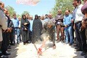 گزارش تصویری کلنگ زنی پروژه احداث و آسفالت راه روستایی گلیان -برزلی شیروان در خراسان شمالی