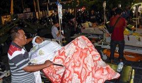 زلزله ۷ ریشتری اندونزی دستکم ۸۲ کشته بر جای ...