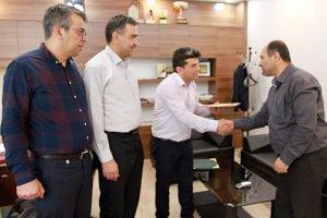 تقدیر از روابط عمومی سازمان نظام مهندسی ساختمان خوزستان به مناسبت روز خبرنگار