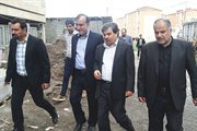 بازدید قائم مقام وزیر راه و شهرسازی از مسکن مهر گیلان