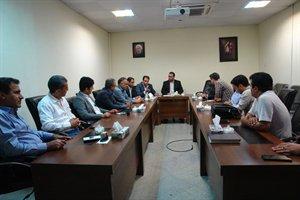 جلسه آماده سازی سایت کوی وحدت  شهرستان شیروان در خراسان شمالی برگزار شد