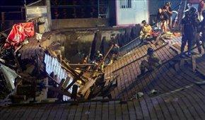 سقوط پل در اسپانیا ۳۰۰ مجروح بر جای گذاشت