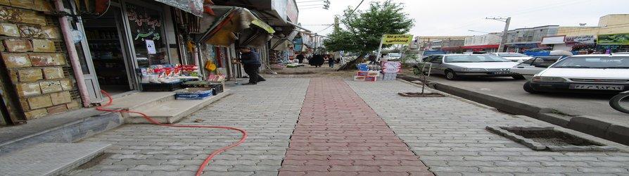 ادامه اجرای برخی از پروژه های شهرداری نیر به روایت تصویر