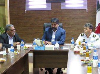 نشست کمیته زیرساخت اربعین ۹۷ در شهرداری مهران
