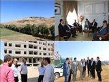 دیدار مدیرکل بنیاد مسکن استان با فرماندار وبازدید از طرحهای عمرانی شهرستان مرند