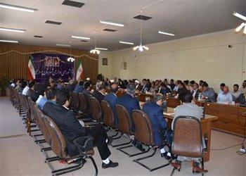 چهارمین جلسه شورای اداری شهرستان بروجن به ریاست فرماندار شهرستان برگزار شد