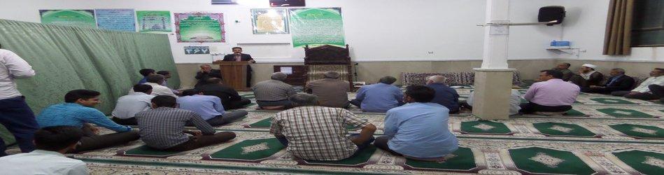 دیدار مردمی شهردار با اهالی مسکن مهر در مسجد باقر العلوم