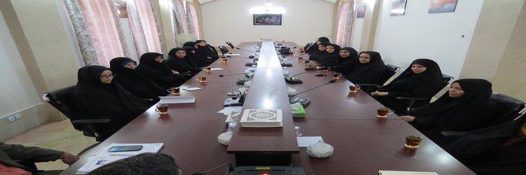 اولین مجمع مشورتی بانوان شورایار در محل دفتر شورای اسلامی شهر طبس برگزار شد