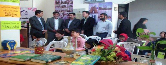 نمایشگاه آثار رضوی فراگیران فرهنگسرای مولانا برگزار شد.