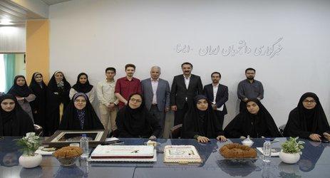 حضور مدیر عامل و مدیران شرکت عمران شهر جدید بینالود در رسانه  ...
