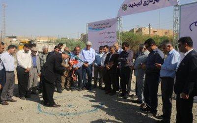 مراسم کلنگ زنی پروژه نیزارزدایی و احداث کانال