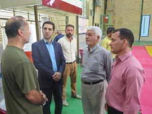 گزارش تصویری/بازدید اعضای شورا و شهردار میامی از اردوی تیم ملی کشتی آلیش