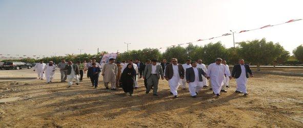افتتاح و کلنگ زنی ۱۸ پروژه شهرداری چابهار