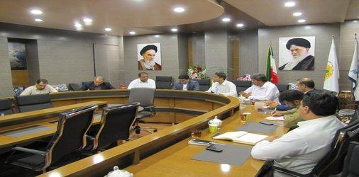 جلسه هم اندیشی شهردار و اعضای شورای شهر چابهار و با مشاوران وزارت راه و شهرسازی