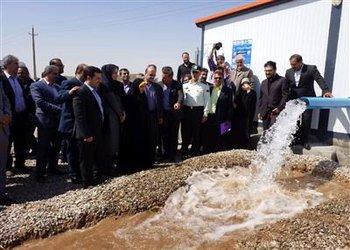 افتتاح و بهر ه برداری از ۸ طرح تولیدی کشاورزی ، ورزشی بمناسبت هفته دولت با مهندس مهندس زاهدی استاندار