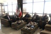 دیدار مدیرکل راه و شهرسازی استان با مدیرعامل بانک مسکن در خصوص مسکن مهر استان