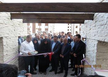 افتتاح پروژه های شرکت عمران شهر مجلسی با حضور معاون وزیر راه و شهرسازی